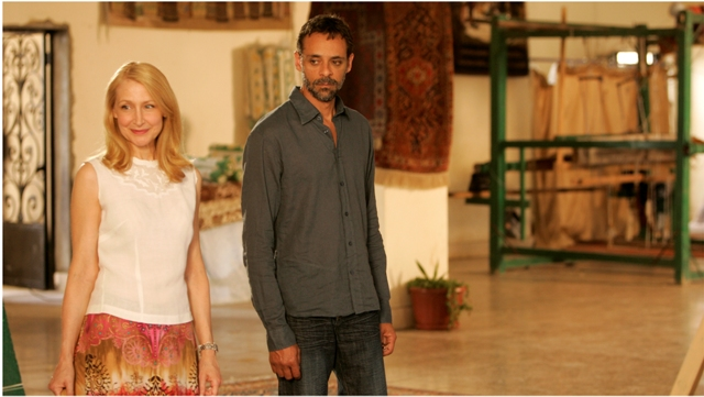 Patricia Clarkson and Alexander Siddig star in Ruba Nadda's Cairo Time.