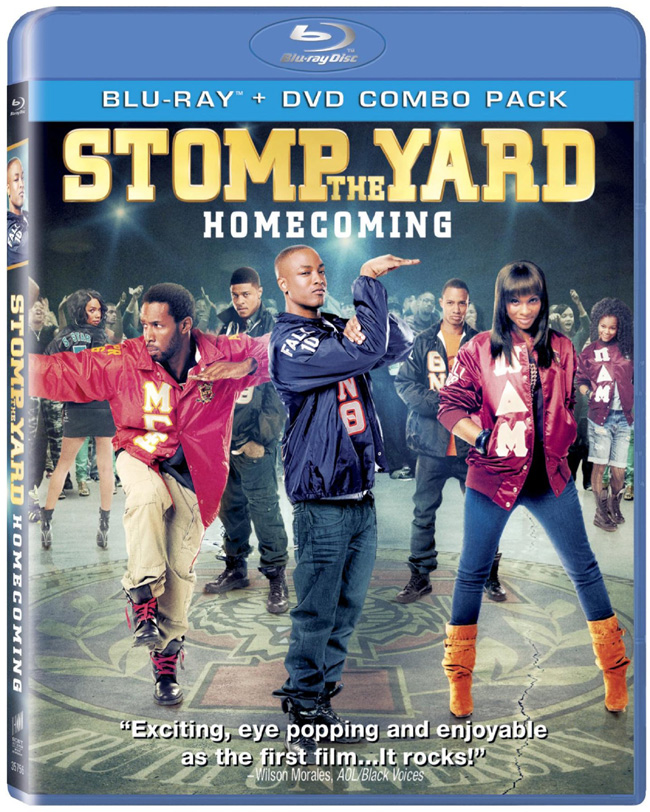 The DVD for Stomp the Yard: Homecoming