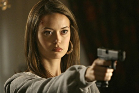 Summer Glau in Terminator: The Sarah Connor Chronicles.