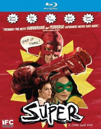 Super was released on DVD and Blu-ray on August 9th, 2011