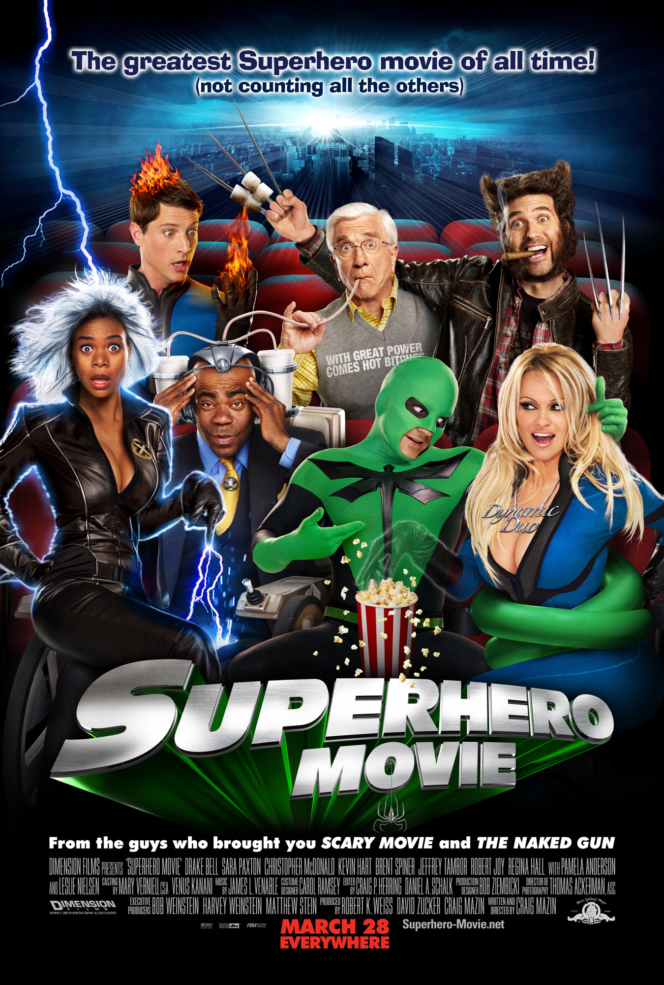 Official Movie Poster Art Released For 'Superhero Movie'