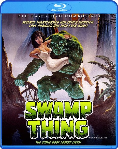 Swamp Thing was released on Blu-ray on August 6, 2013
