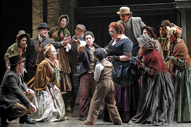 Liz McCartney in Drury Lane Theatre's Sweeney Todd