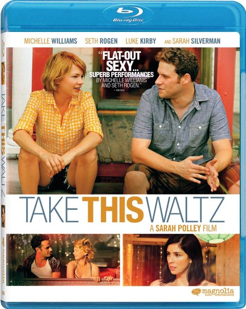 Take This Waltz was released on Blu-ray and DVD on October 23, 2012