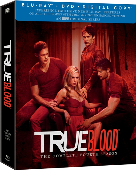 True Blood: Season Four was released on Blu-ray and DVD on May 29, 2012