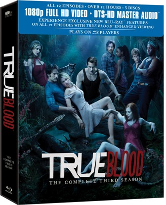 True Blood: Season Three was released on Blu-Ray and DVD on May 31st, 2011.