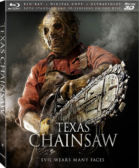 Texas Chainsaw was released on Blu-ray and DVD on May 14, 2013