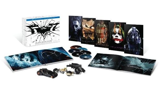 The Dark Knight Trilogy: Ultimate Collector's Edition was released on Blu-ray on September 24, 2013