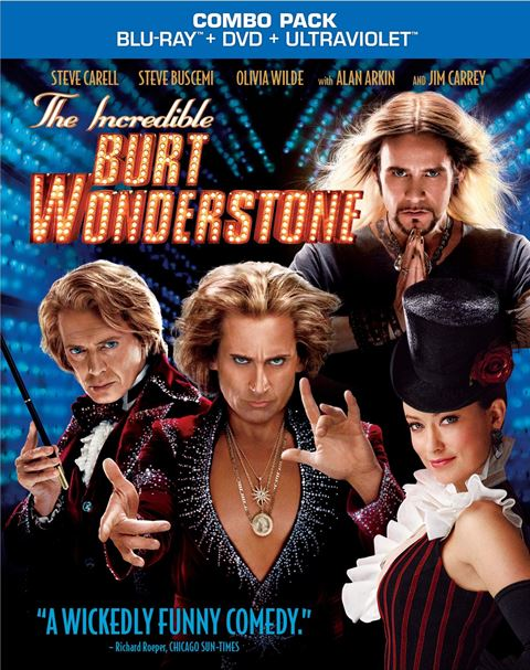 The Incredible Burt Wonderstone will be released on Blu-ray and DVD on June 25, 2013