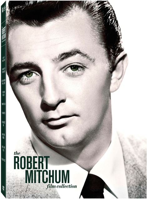 The Robert Mitchum Film Collection was released on DVD on October 9, 2012