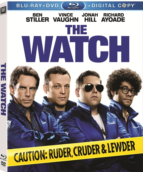 The Watch was released on Blu-ray and DVD on November 13, 2012