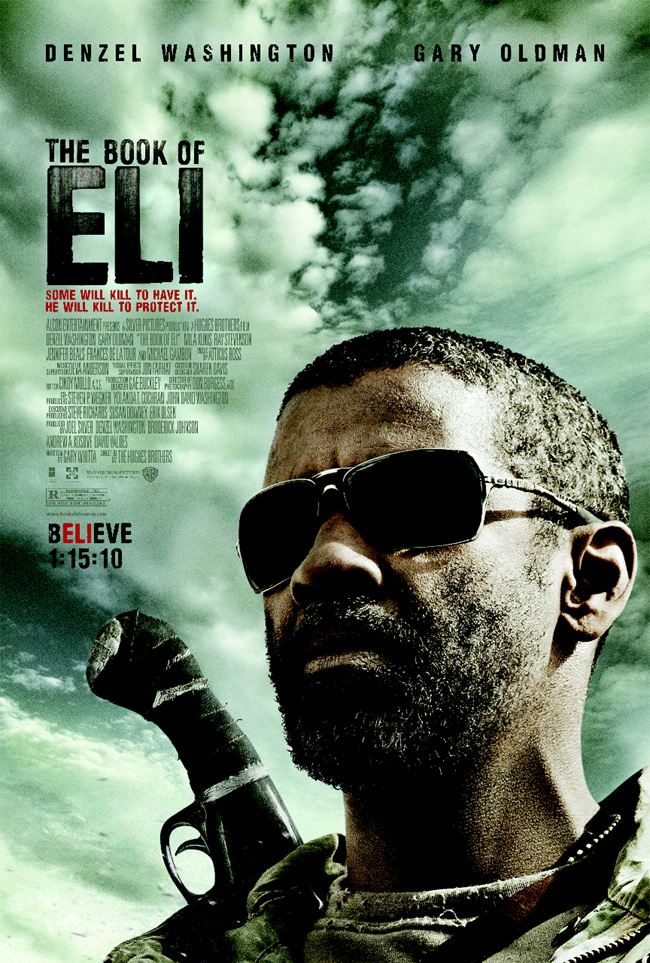 The Book of Eli stars Denzel Washington, Gary Oldman and Mila Kunis