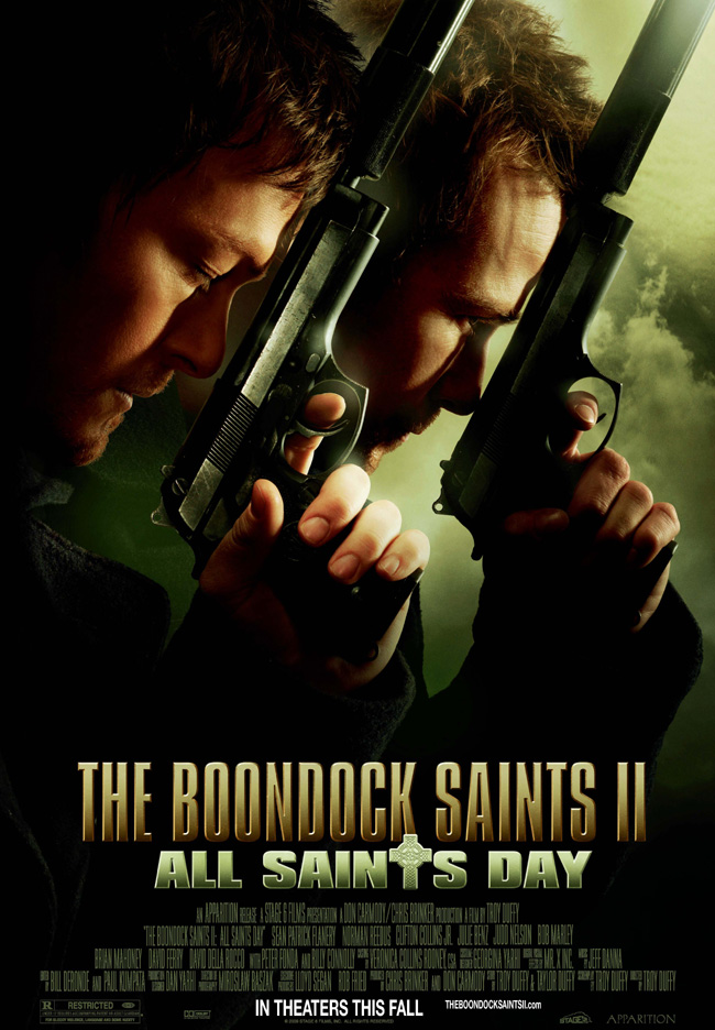 The Boondock Saints II: All Saints Day stars Sean Patrick Flanery