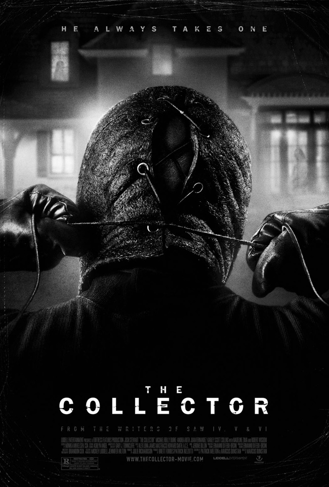 The movie poster for The Collector