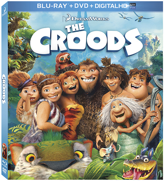 The Croods with Nicolas Cage and Ryan Reynolds came to Blu-ray and DVD combo pack on Oct. 1, 2013