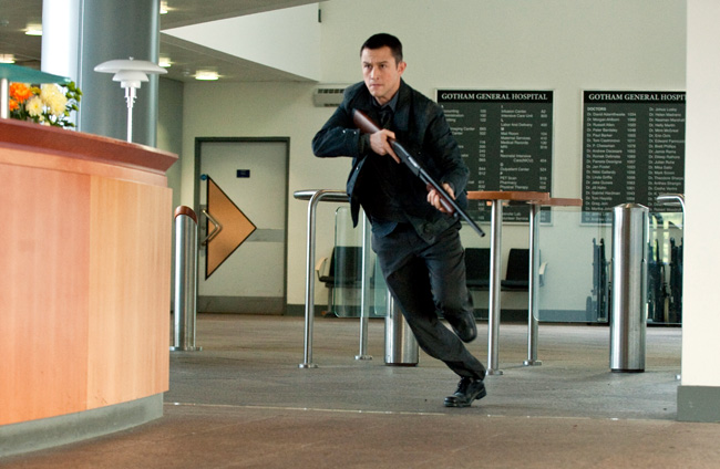 Joseph Gordon-Levitt as John Blake in The Dark Knight Rises