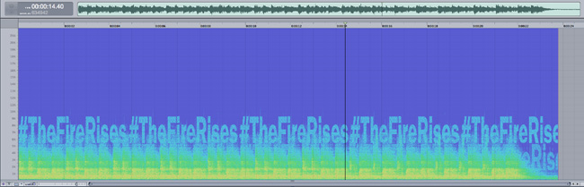 The Fire Rises sound spectrogram revealed for The Dark Knight Rises