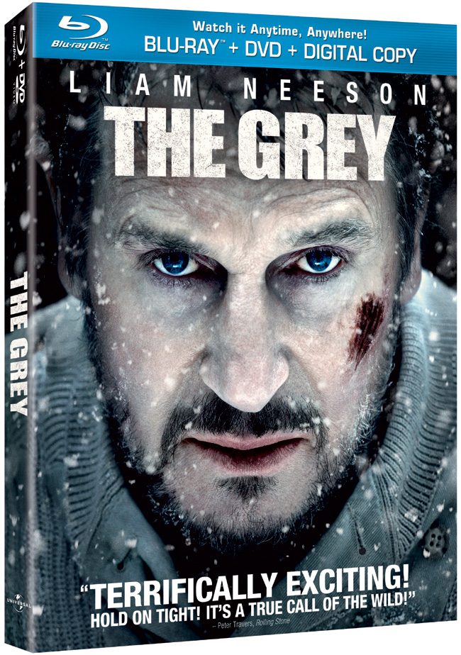 The Grey with Liam Neeson comes to Blu-ray and DVD on May 15, 2012