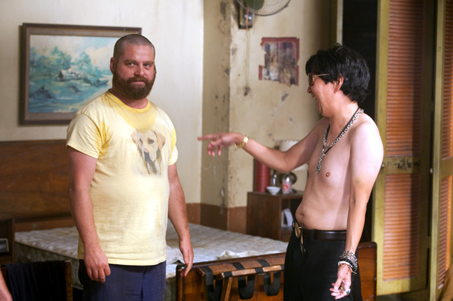 Zach Galifianakis and Ken Jeong in The Hangover Part II