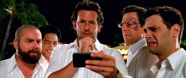 Zach Galifianakis, Mason Lee, Bradley Cooper, Ed Helms and Justin Bartha in The Hangover Part II