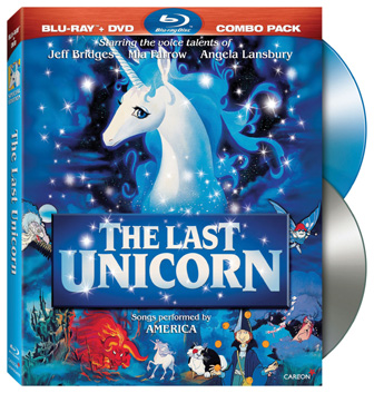 The Last Unicorn was released on Blu-Ray and DVD combo pack on February 22nd, 2011