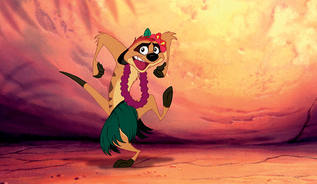 Timon in The Lion King 3D
