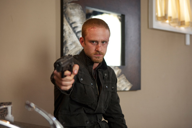 Ben Foster in The Mechanic