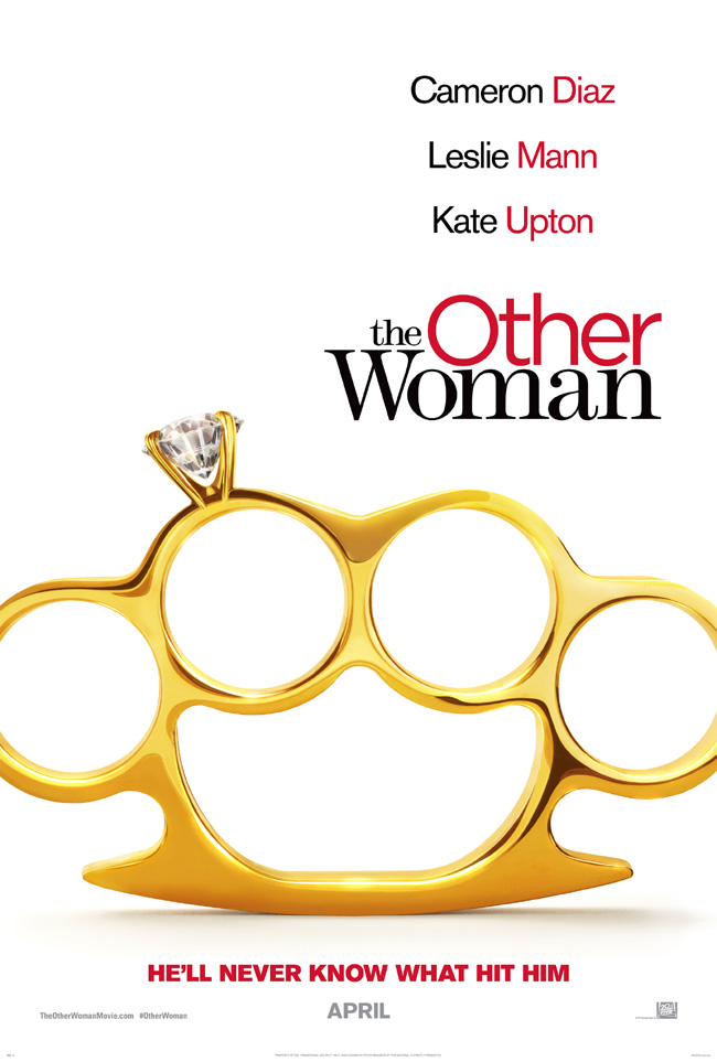 The movie poster for The Other Woman starring Cameron Diaz, Kate Upton and Nicki Minaj