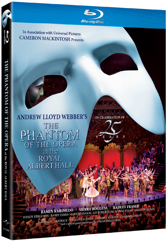 The Phantom of the Opera at the Royal Albert Hall comes to Blu-ray and DVD on Feb. 7, 2012