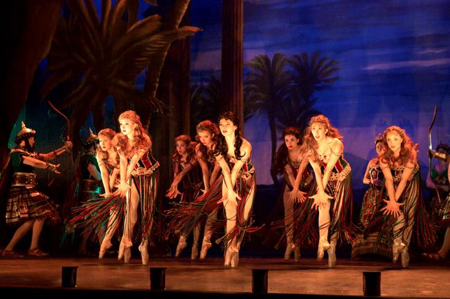 The Corps de Ballet in Hannibal in The Phantom of the Opera