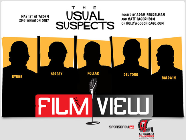 The Usual Suspects hosted by HollywoodChicago.com critics Adam Fendelman and Matt Fagerholm