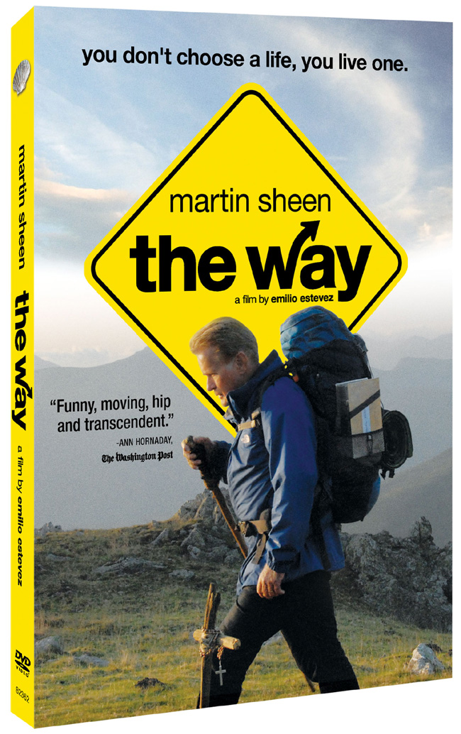 The Way will be released on DVD and Blu-ray on Feb. 21, 2012