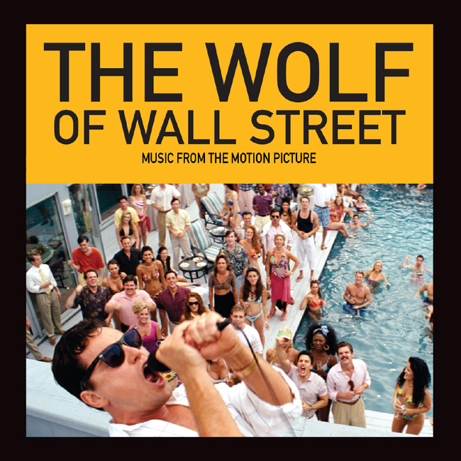 The Wolf of Wall Street soundtrack is available on iTunes on Dec. 17, 2013