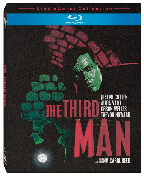 The Third Man was released on Blu-ray on September 14th, 2010