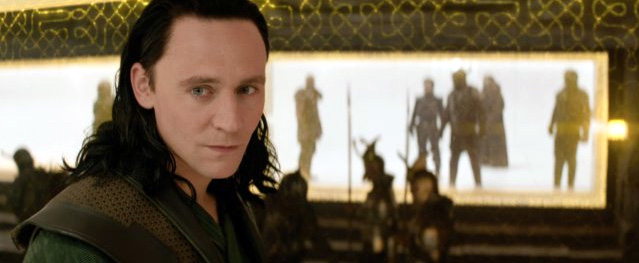 Tom Hiddleston as Loki in Thor: The Dark World