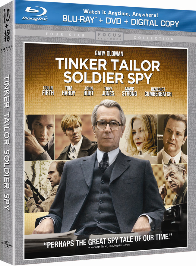 Tinker Tailor Soldier Spy will be released on Blu-ray and DVD combo pack on March 20, 2012