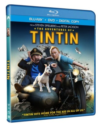 The Adventures of Tintin was released on Blu-ray and DVD on March 13th, 2012