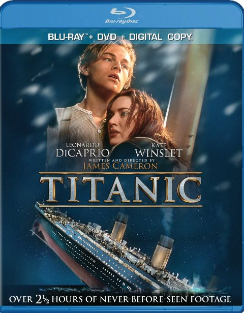 Titanic was released on Blu-ray on September 10, 2012