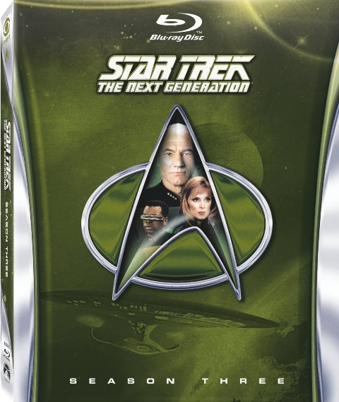 Star Trek: The Next Generation: Season Three was released on Blu-ray on April 30, 2013