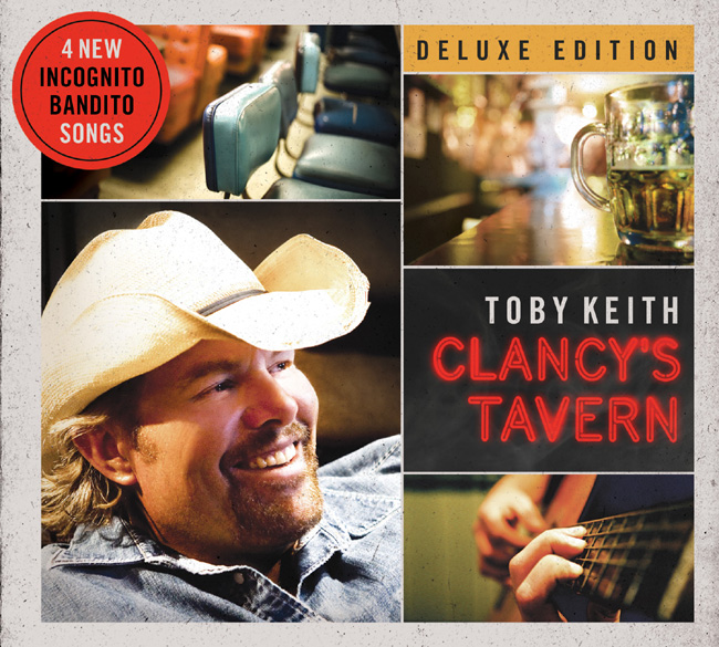 Toby Keith released his new album Clancy's Tavern on Oct. 24, 2011