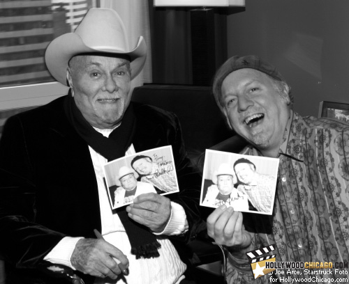 Autograph Hounds: Tony Curtis and Patrick McDonald in Chicago, December 3rd, 2009.