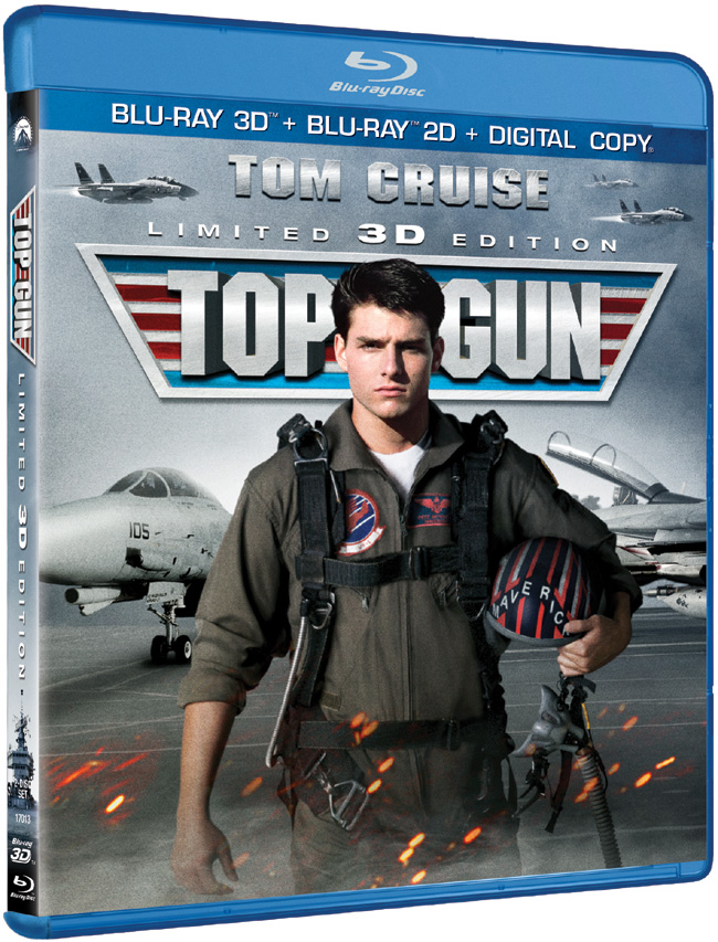 Top Gun with Tom Cruise and Val Kilmer comes to Blu-ray and 3D Blu-ray on Feb. 19, 2013