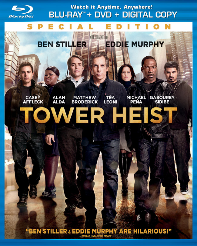 Tower Heist comes to Blu-ray and DVD on Feb. 21, 2012