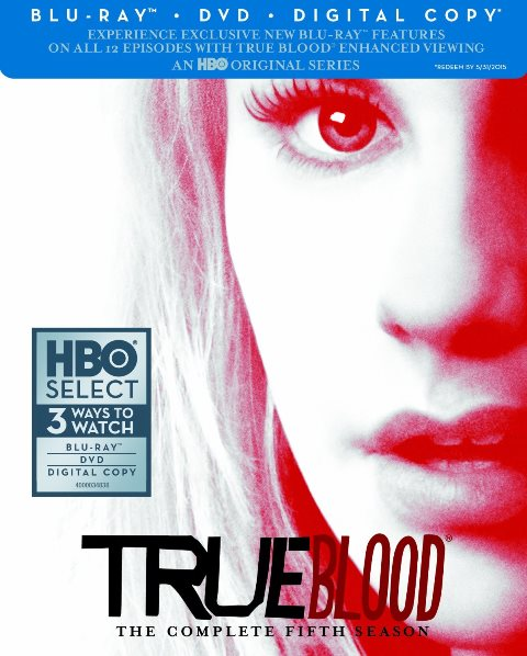 True Blood: The Complete Fifth Season was released on Blu-ray and DVD on May 21, 2013