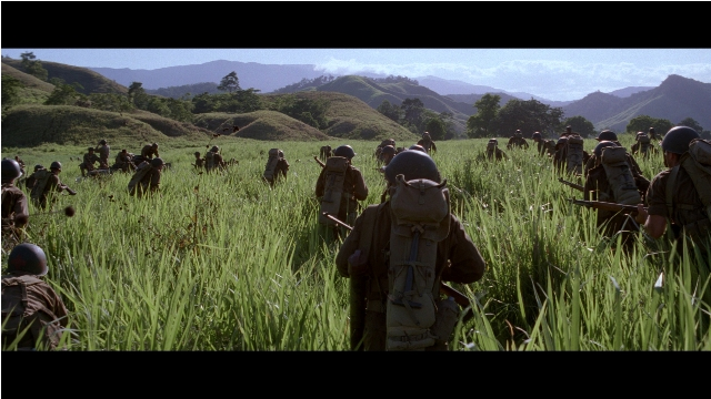 Terrence Malick's 1998 war film The Thin Red Line shares striking similarities with his new film, The Tree of Life.