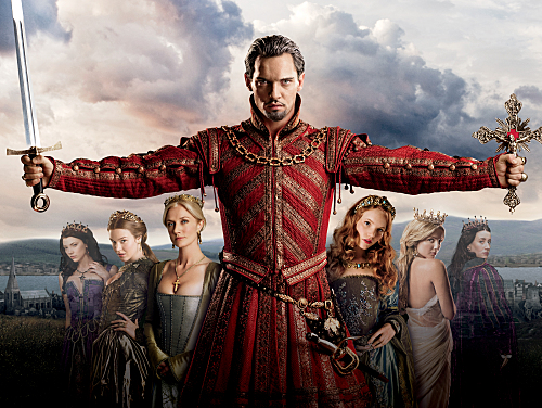 Natalie Dormer as Anne Boleyn, Joss Stone as Anne of Cleves, Joely Richardson as Catherine Parr, Jonathan Rhys Meyers as Henry VIII, Tamzin Merchant as Katherine Howard, Annabelle Wallis as Jane Seymour, and Maria Doyle Kennedy as Queen Katherine.