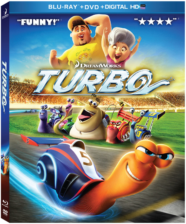 Turbo with Ryan Reynolds and Paul Giamatti comes to Blu-ray and DVD combo pack on Nov. 12, 2013