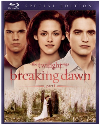 The Twilight Saga: Breaking Dawn -- Part 1 was released on Blu-ray and DVD on February 11, 2012