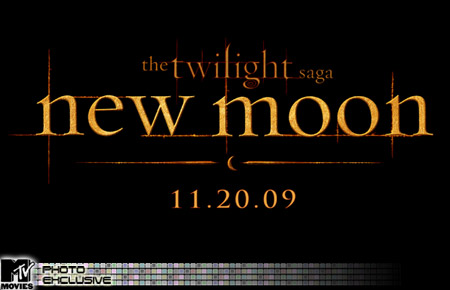 The new logo for The Twilight Saga's New Moon