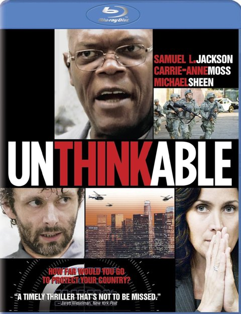 Unthinkable was released on Blu-Ray and DVD on June 15th, 2010.